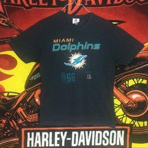 Miami Florida Dolphins Football Tee Shirt NFL